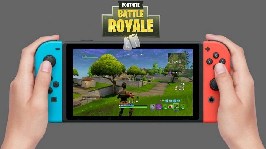 Fortnite на каждой второй Nintendo Switch