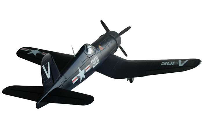 Модель самолета FMS Mini Chance Vought F4U Corsair c 3-х осевым гироскопом Фотография 3