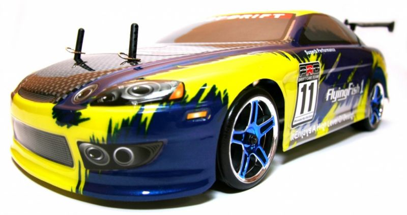 Дрифт 1:10 Himoto DRIFT TC HI4123BL Brushless (синий) Фотография 0