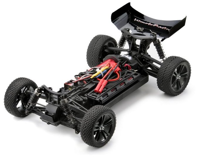 Багги 1:10 Himoto Tanto E10XBL Brushless (зеленый) Фотография 1