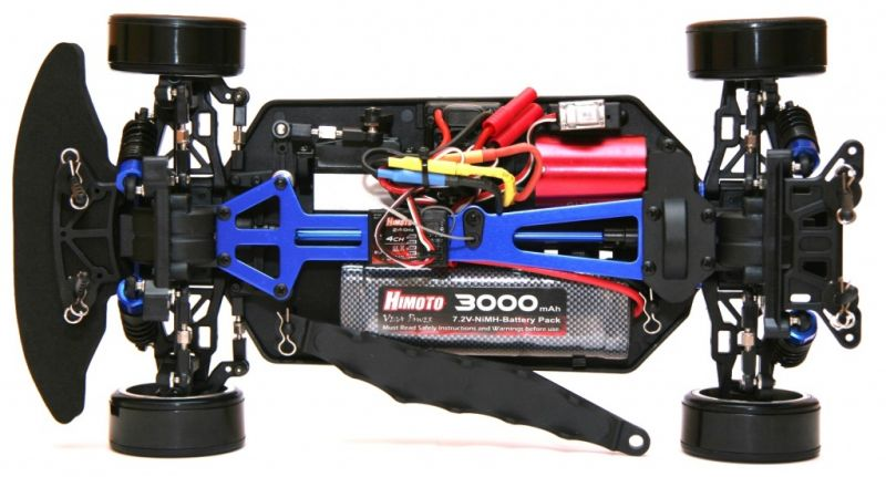 Дрифт 1:10 Himoto DRIFT TC HI4123BL Brushless (синий) Фотография 4
