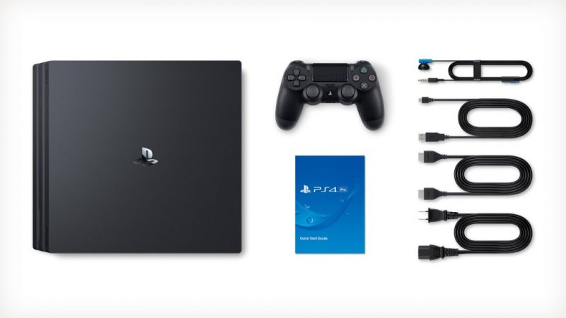 Sony Playstation 4 PRO 1TB с двумя джойстиками + Mortal Kombat XL (PS4) Фотография 2