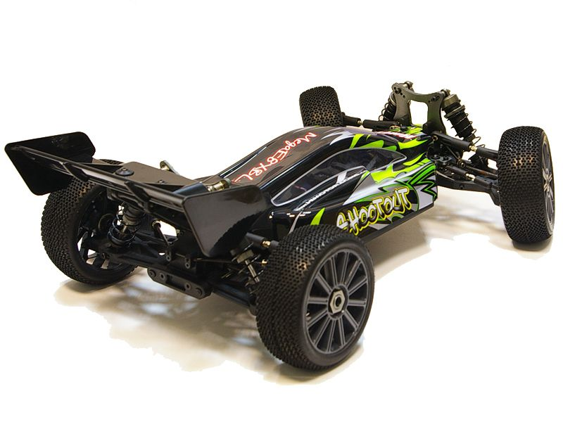 Багги 1:8 Himoto Shootout MegaE8XBL Brushless (зеленый) Фотография 6