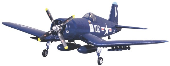 Модель самолета FMS Mini Chance Vought F4U Corsair c 3-х осевым гироскопом Фотография 0