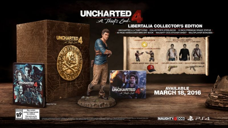 Uncharted 4 Collectors Edition (PS4) Фотография 2