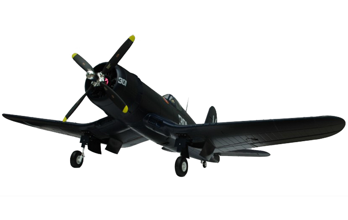 Модель самолета FMS Mini Chance Vought F4U Corsair c 3-х осевым гироскопом Фотография 2