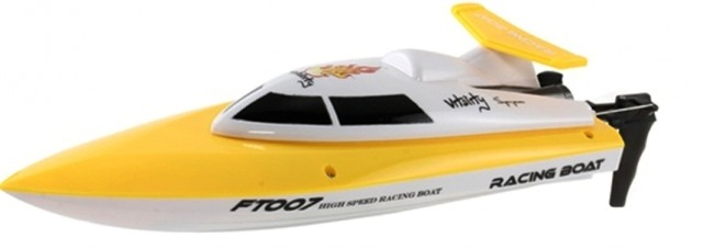 Катер Fei Lun FL-FT007 Racing Boat (желтый) Фотография 0