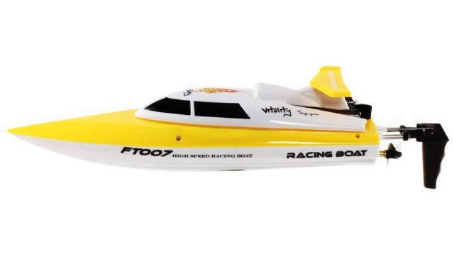 Катер Fei Lun FL-FT007 Racing Boat (желтый) Фотография 2