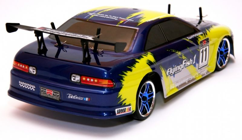 Дрифт 1:10 Himoto DRIFT TC HI4123BL Brushless (синий) Фотография 2