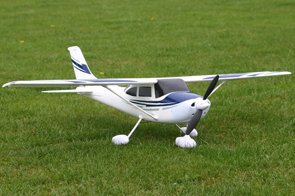 Модель самолета FMS Cessna 182-AT Blue New Version Фотография 3