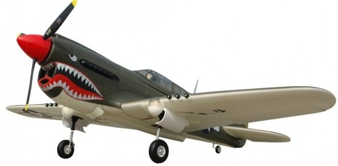 Модель самолета FMS Mini Curtiss P-40 Warhawk c 3-х осевым гироскопом Фотография 2