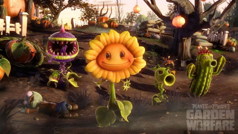 Plants vs. Zombies Garden Warfare (PS4) Фотография 3