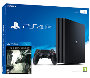 Sony Playstation 4 PRO 1TB + игра The Last Guardian (PS4)