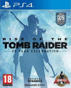 Игра Rise Of The Tomb Raider 20 Year Celebration (PS4)