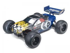 Машинка на радиоуправлении Thunder Tiger Sparrowhawk XXT Brushless Stadium Track 1/10 435 мм 4WD 2CH 2.4GHz RTR (BL)