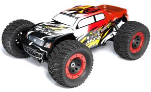 Машинка на радиоуправлении Thunder Tiger MT-4 G3 Brushless Monster 1/8 532 мм 4WD 2.4GHz RTR Red