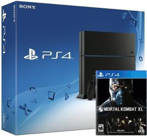 PlayStation 4 + Mortal Kombat X
