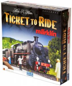 Ticket to Ride: Marklin Edition (карта Германии)