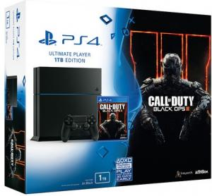 Playstation 4 1TB + Call of Duty: Black Ops 3