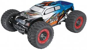 Машинка на радиоуправлении Thunder Tiger MT-4 G3 Brushless Monster 1/8 532 мм 4WD 2.4GHz RTR Blue