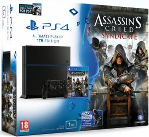 PS4 1TB + Assassins Creed Syndicate + Watch Dogs