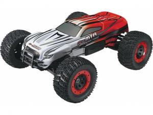 Машинка на радиоуправлении Thunder Tiger eMTA Brushless Monster 1/8 620 мм 4WD 2.4GHz RTR Red