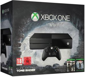 Xbox One 500GB + Rise of the Tomb Raider