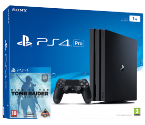 Sony Playstation 4 PRO 1TB + Rise of The Tomb Raider (PS4)