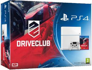 Playstation 4 White + DriveClub