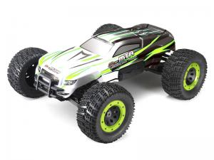 Машинка на радиоуправлении Thunder Tiger eMTA Brushless Monster 1/8 620 мм 4WD 2.4GHz RTR Green