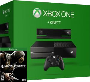 Xbox One 500Gb + Kinect + Mortal Kombat X