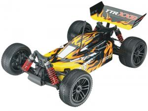 Машинка на радиоуправлении Thunder Tiger Sparrowhawk XXB Brushless Buggy 1/10 394 мм 4WD 3CH 2.4GHz RTR Blue/Yellow