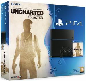 PS4 + Uncharted Nathan Drake Collection