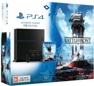 Playstation 4 1TB + Star Wars: Battlefront