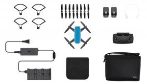 Квадрокоптер DJI Spark (Sky Blue) Fly More Combo