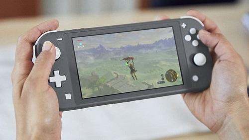 Встроенные контроллеры в Nintendo Switch Lite