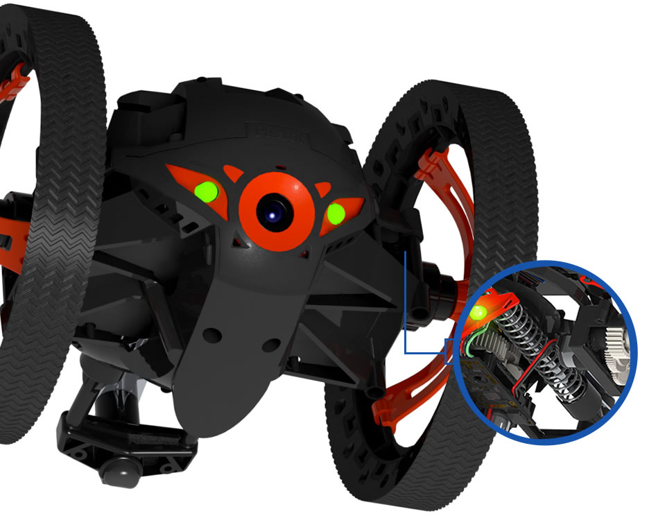 Parrot Jumping Sumo Black image1