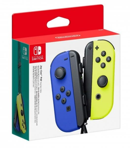 Геймпады Joy-Con Pair neon Blue/neon Yellow Фотография 0