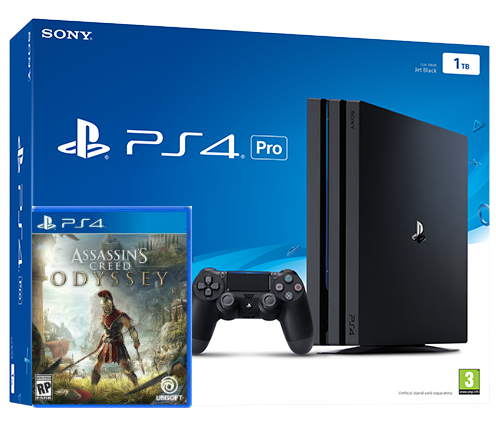 Sony Playstation 4 PRO 1TB + игра Assassin's Creed Odyssey (PS4) Фотография 0