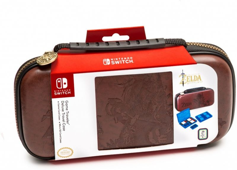 Чехол для Nintendo Switch Deluxe Traveler Case Zelda brown Фотография 0