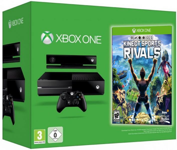 Microsoft Xbox One + Kinect Sports: Rivals Фотография 0