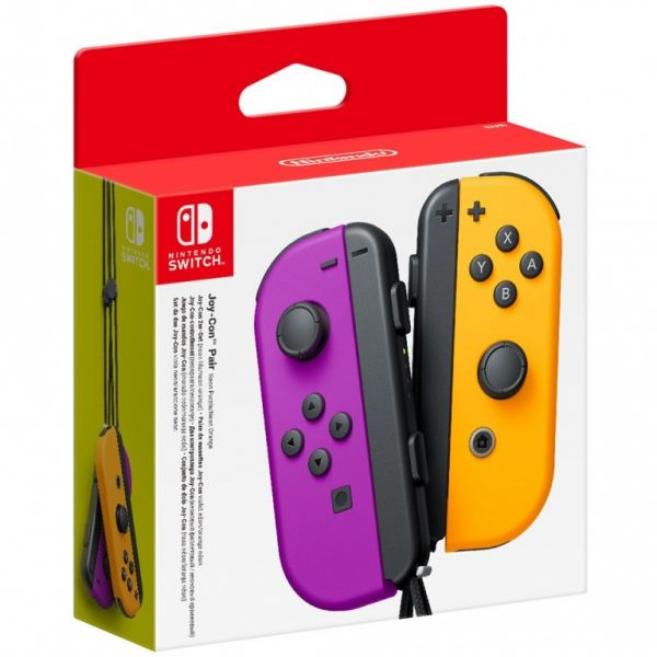 Геймпады Joy-Con Pair Purple/Neon Orange Фотография 0