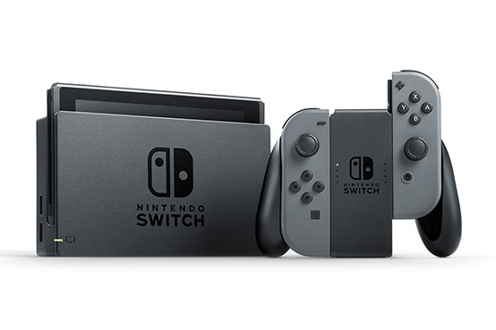 Nintendo Switch Gray + Mario Kart 8 Deluxe (Nintendo Switch) Фотография 1