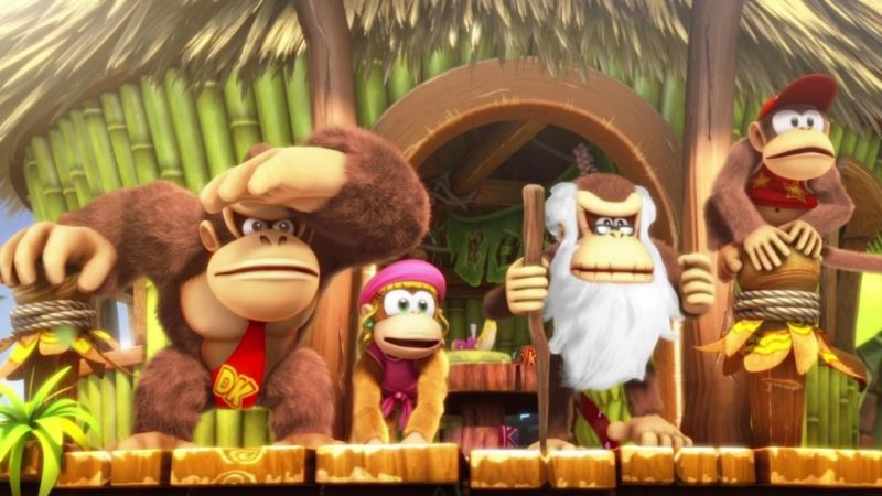 Donkey Kong Country: Tropical Freeze (Nintendo Switch) Фотография 5