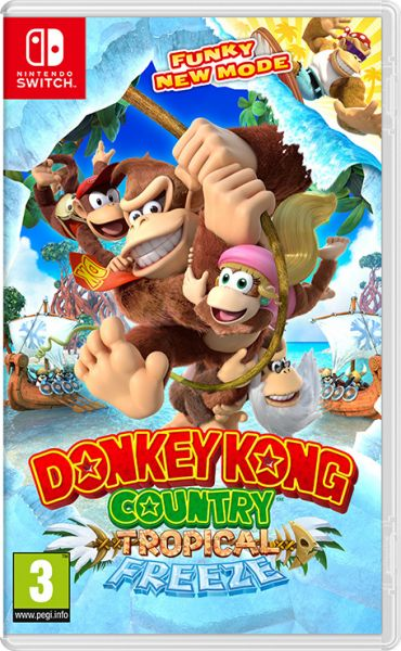 Donkey Kong Country: Tropical Freeze (Nintendo Switch) Фотография 0