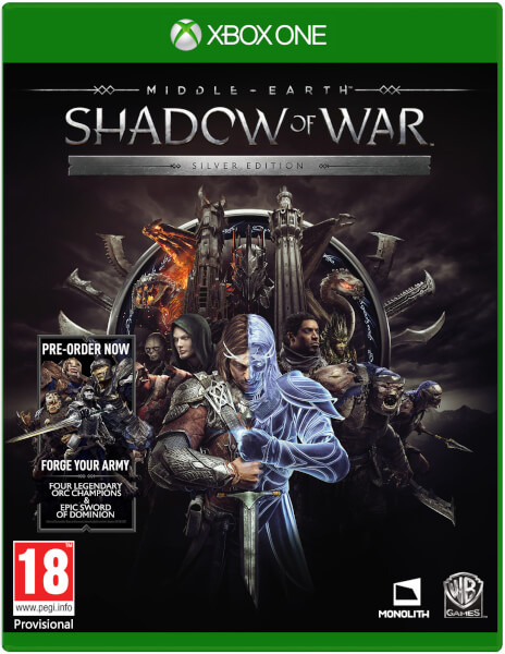 Middle-Earth: Shadow of War (Xbox one) Фотография 0