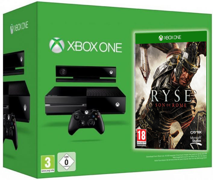 Microsoft Xbox One + Ryse: Son of Rome Фотография 0