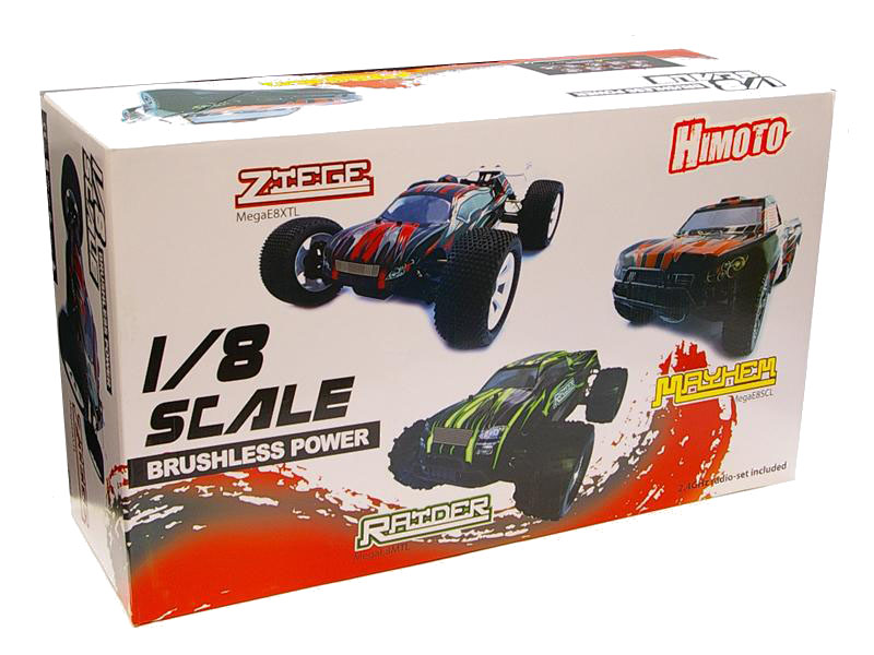 Шорт 1:8 Himoto Mayhem MegaE8SCL Brushless (зеленый) Фотография 5