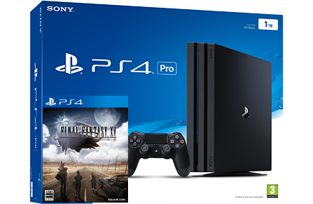 Sony Playstation 4 PRO 1TB + игра Final Fantasy XV (PS4) Фотография 0