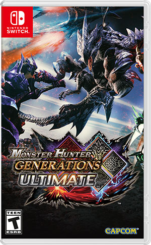 Monster Hunter Generations Ultimate (Nintendo Switch) Фотография 0